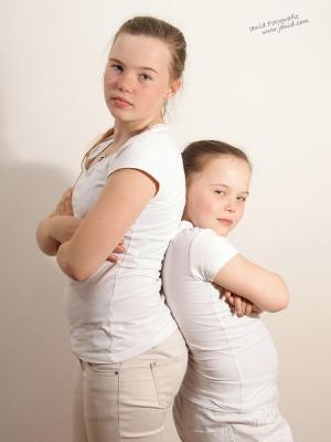 Sanne en Mandy