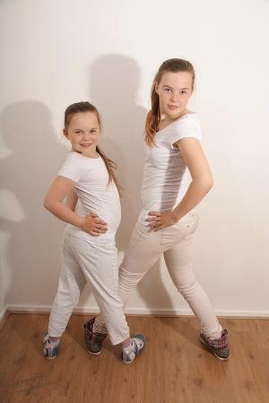 Mandy en Sanne